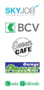 Les sponsors principaux du FC Champvent